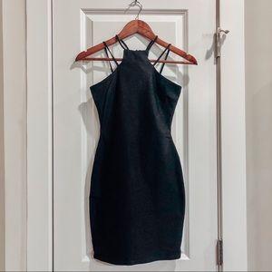 🖤THE VINTAGE SHOP🖤 Mini Bodycon Black Dress